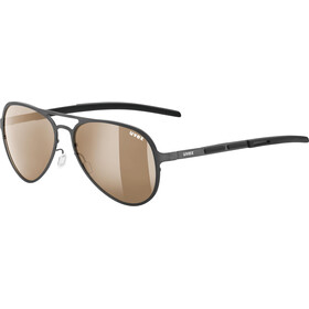 UVEX LGL 30 Pola Lifestyle Glasses gun/ltm.brown